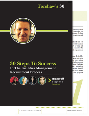 30 Steps To Success In The Facilities Management Recruitment Process.