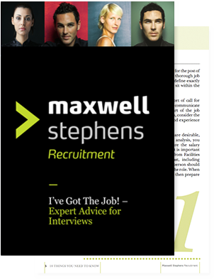 I've got the Job! - Expert Advive for Interviews.