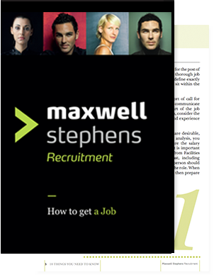 How to Get a Job ebook from Maxwell Stephens