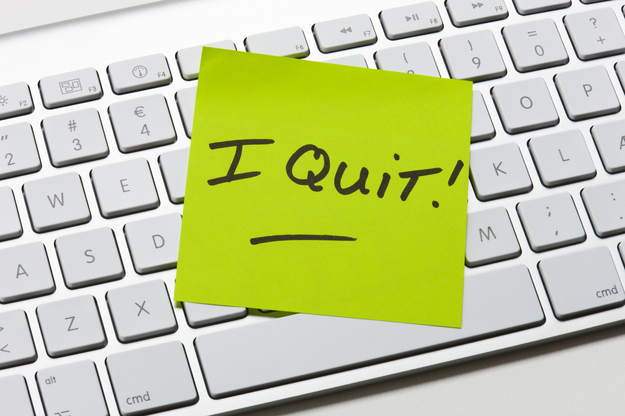 leaving your job notice of resignation