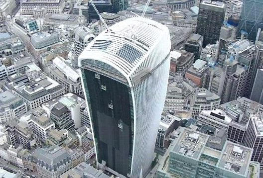 Walkie Talkie building and FM